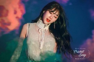 Moon Hyuna Teaser Cricket Song 7
