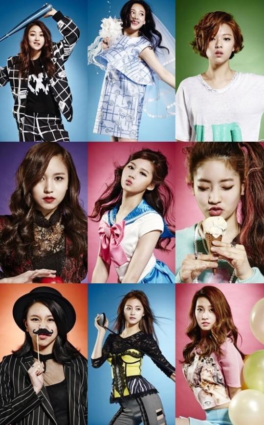 Nuevos grupos de chicas r46b