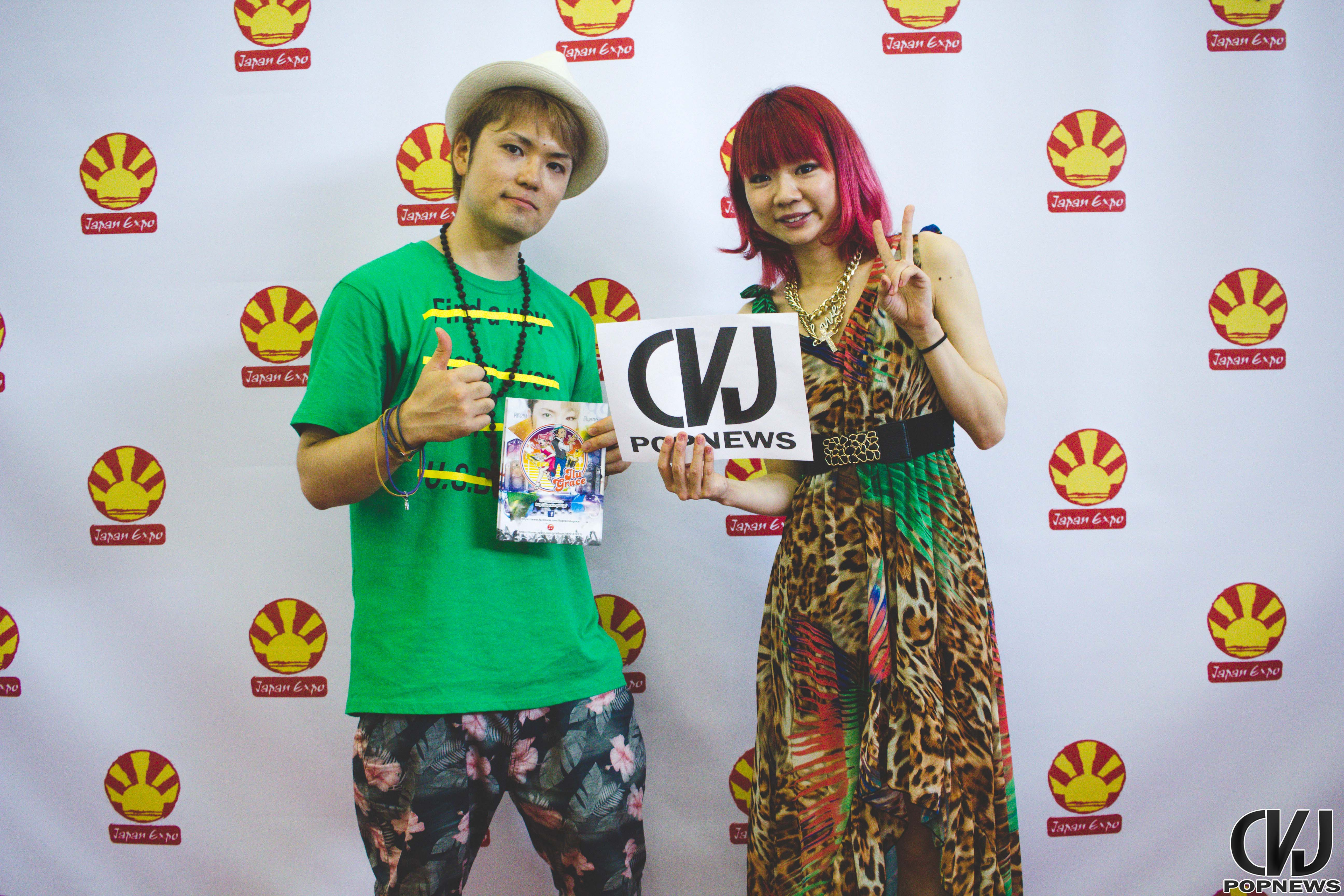 Japan Expo 16 - 150704 - Ilu Grace photocall