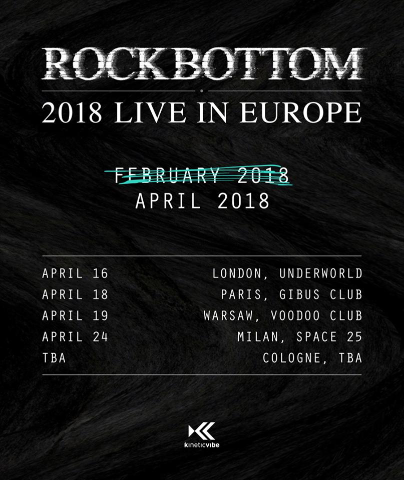 Le Concert Rock Bottom Du 8 Fevrier Est Recule Au 18 Avril Prochain